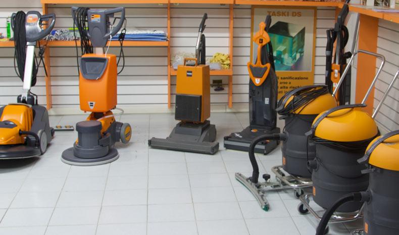 Macchine pulizia Milano