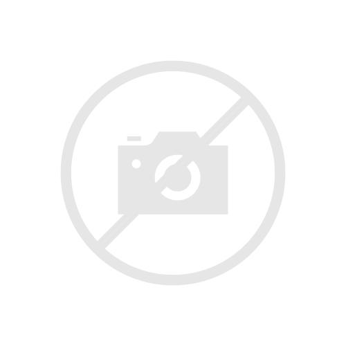 Manico cromato per scopa frangia 145cm in 2 pezzi