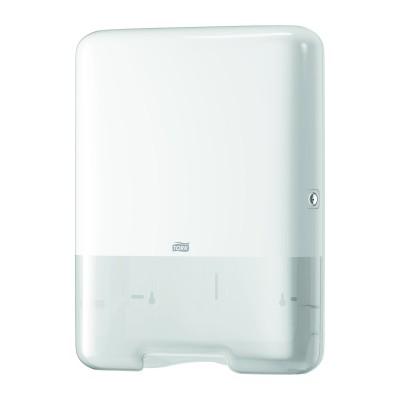 Tork dispenser per asciugamani piegati a V/C bianco