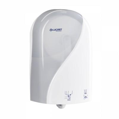 Dispenser Identity autocut bianco per carta igienica