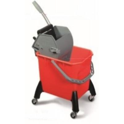 Carrello mop MACTOP50 18 lt con pressa Elparoll