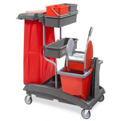 Carrello Idea Top 6 E con pressa mop Elparoll