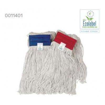 Ricambio mop 400gr con banda rosso Ecolabel