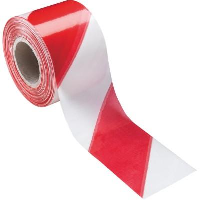Nastro segnaletico bianco/rosso