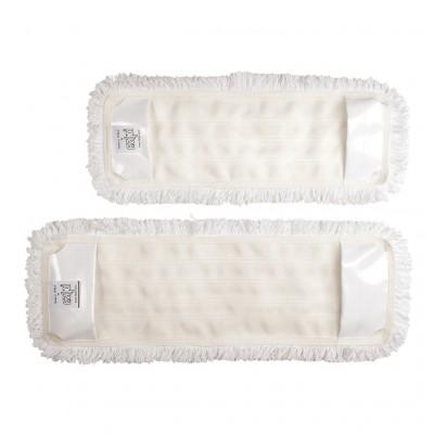 Frangia rapid bianca 40cm con tasca