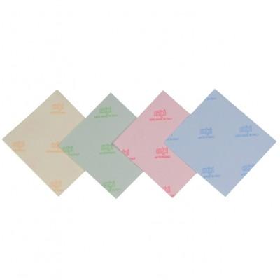 Micropanno in microfibra blu 35x37,5
