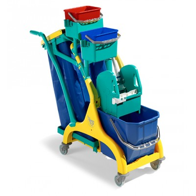 Carrello Nick Star 30 25 lt con pressa mop