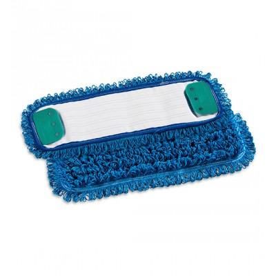 Frangia Wet System 40x13 microfibra blu