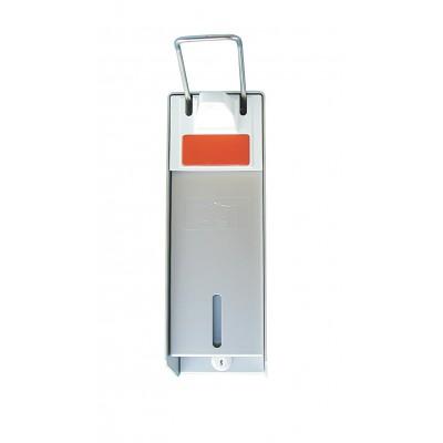 Dosatore ricaricabile a leva in alluminio