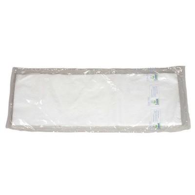 Minigarze bianche eco 60 x 17 cm. polipropilene Ecolabel