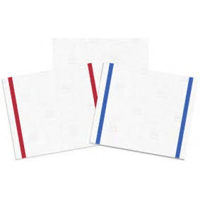 Taskisum panno microfibra monouso blu 41,6x33,8