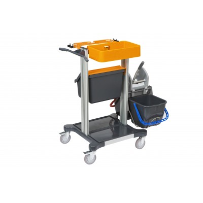 TASKI mini trolley wet - carrello mini con doppio secchio