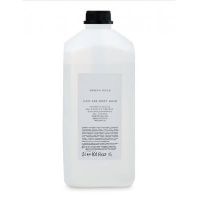 Shampoo doccia flacone 3 lt Verde trasparente