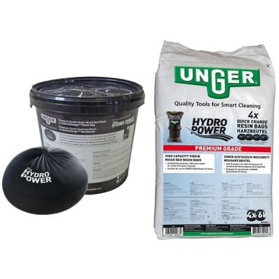 Confezione 4 sacchetti resina per Hydropower (4x6lt)