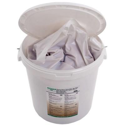 Secchio contenente 25 lt di resina a letto misto sfusa