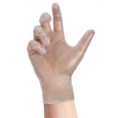 Guanti vinile senza polvere XL