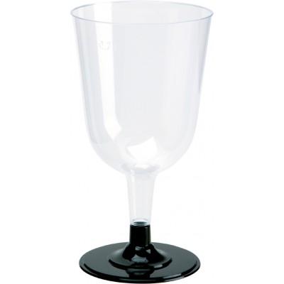 Bicchiere da vino 240 (200) ml PS trasparente
