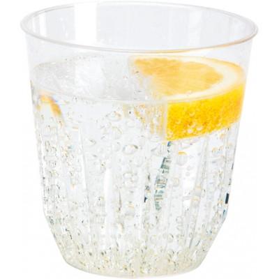 Bicchiere Diamond 250 (200) ml PS trasparente