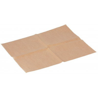 Carta imballaggio resistente all'olio 33x41 marrone