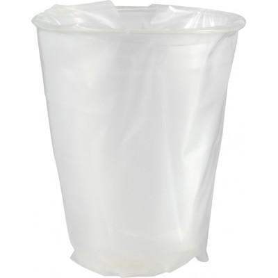 Bicchiere compostabile in PLA trasparente imbustato 250 ml