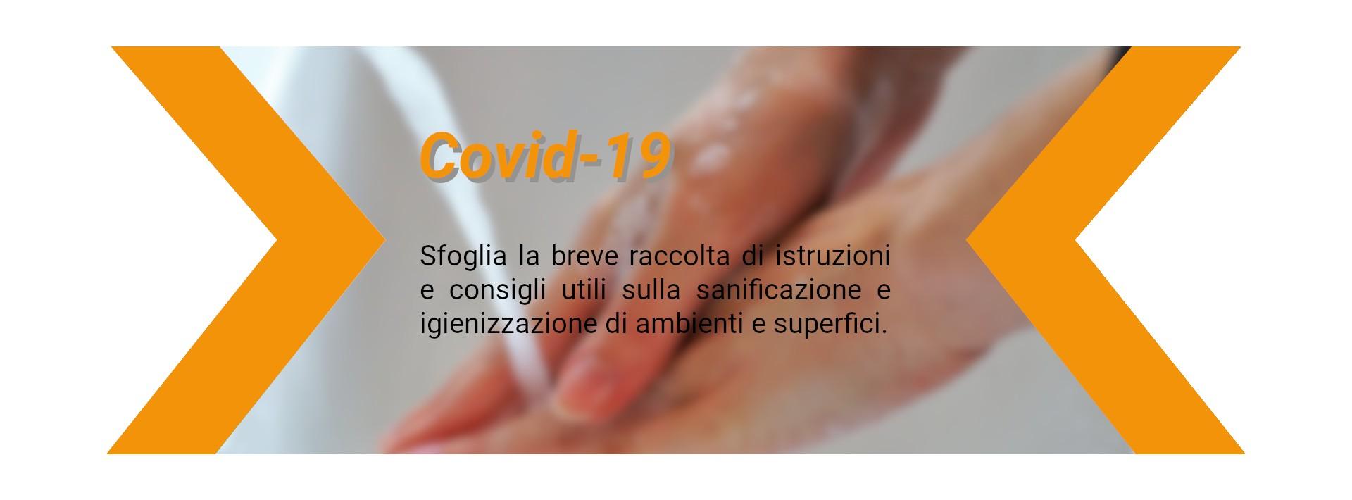 Speciale COVID-19 consigli utili sulla sanificazione professionale