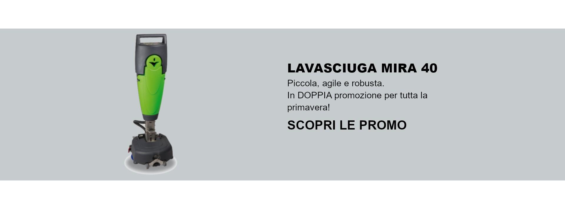 Lavasciuga Mira 40 in promozione per tutta la primavera!