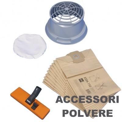 Set accessori polvere vacumat 12