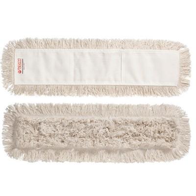 Frangia ricambio cotone con tasca 40cm