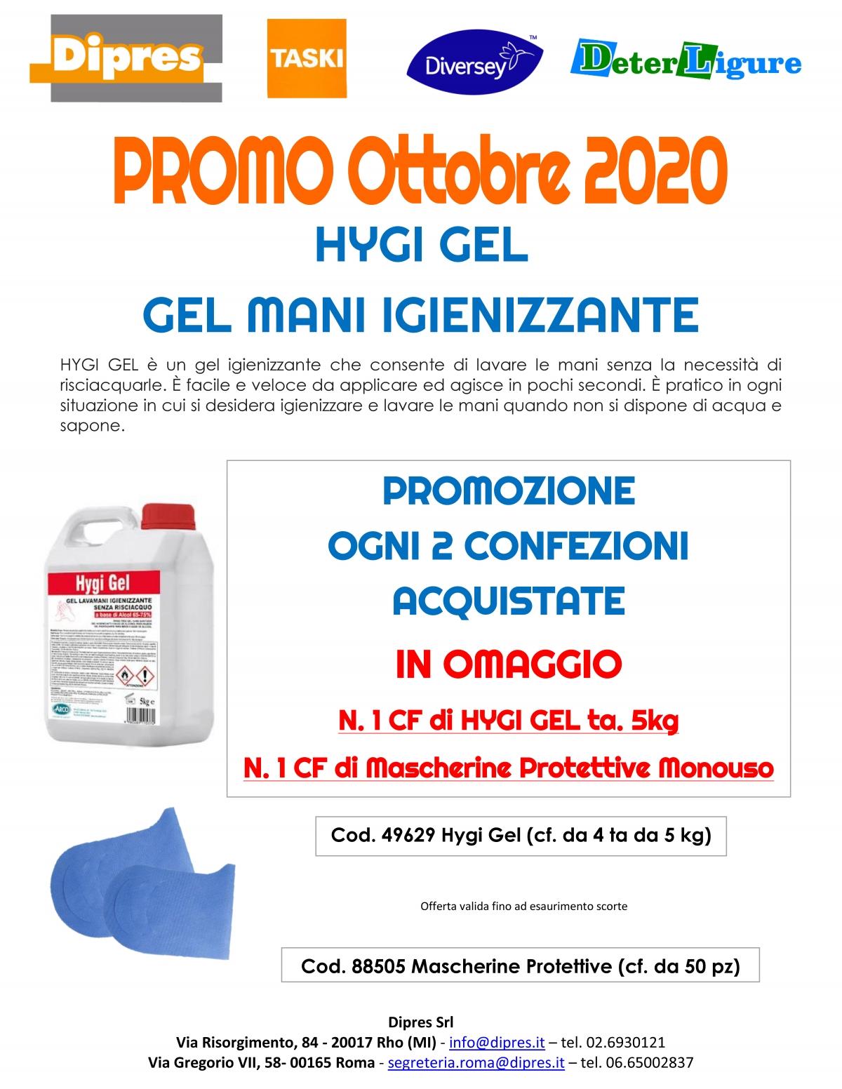 Promozione 2+1+1 hygi gel