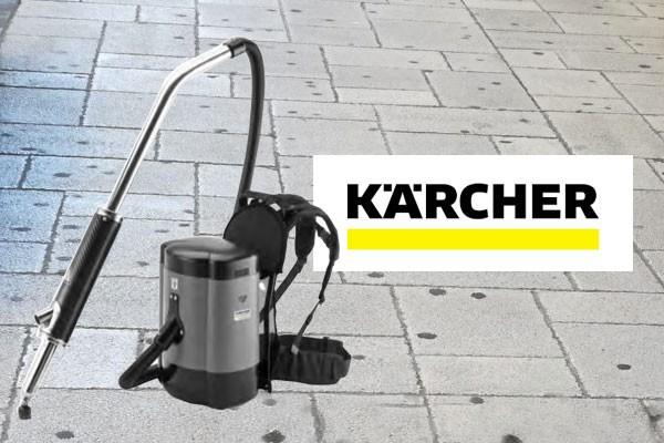 Nuova macchina rimuovi chewing-gum KARCHER